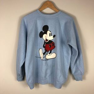 Vintage Mickey Mouse Sweatshirt, XL